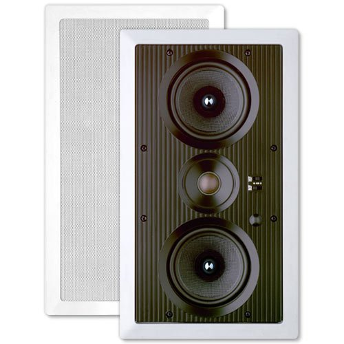 Preference Dual 5.25 In. In-Wall Center Lcrs Speaker, 2-Way (Single)