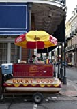 Photography Poster - Lucky Dog Hot Dog stands are everywhere in the French Qu...