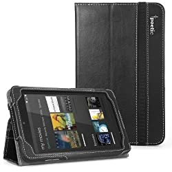 Poetic SlimBook Case for Dell Venue 7 16 GB Tablet (Android) Black (3 Year Manufacturer Warranty From Poetic)