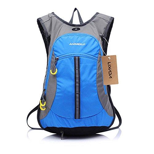 Wasserabweisend Schulter Fahrrad Rucksack für Mountain Radreisen Wandern Camping Wassertasche läuft
