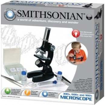 Smithsonian 900 X Microscope With Case