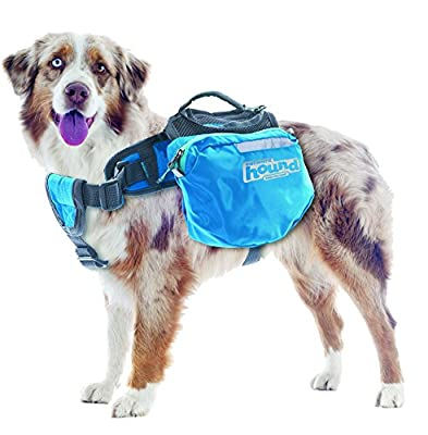 Kyjen 3034 Quick Release Saddlebag Style Dog Backpack