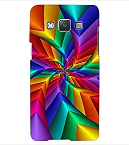 ColourCraft Colouful Design Back Case Cover for SAMSUNG GALAXY A5 A500F
