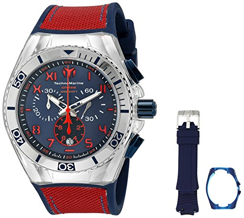 technomarine-mens-quartz-watch-with-blue-dial-chronograph-display-and-blue-silicone-strap-tm-115071
