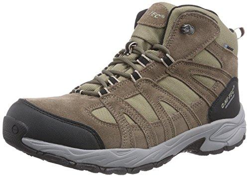 Hi-Tec Alto II Mid WP, Scarponi da trekking ed escursionismo uomo, Marrone (Braun (Smokey Brown/Abbey 041)), 42