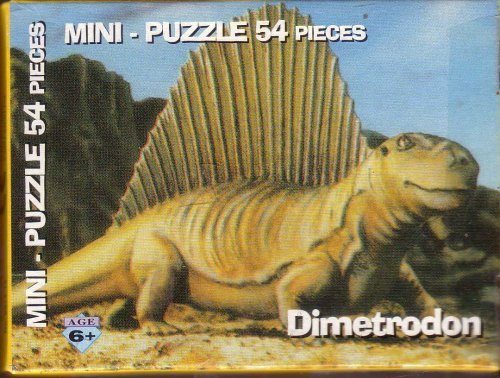 Dimetrodon Mini-Puzzle (54 pieces)