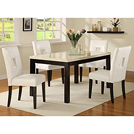 Homelegance Archibald 5 piece White Dining Set
