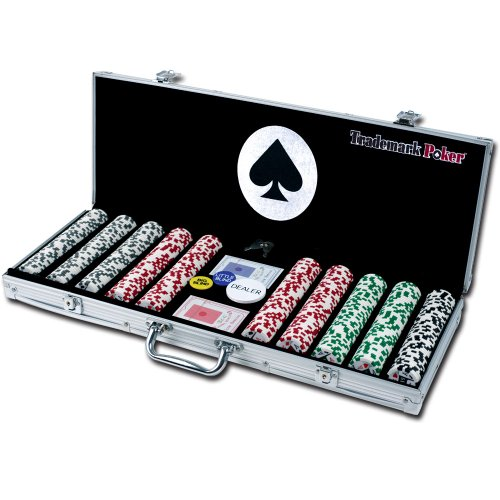 4 Aces 500 11.5g Poker Chip Set