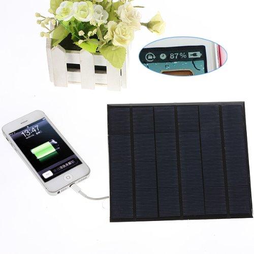 SAWAKE USB Batterie Externe Solaire Chargeur Panneau Pr iPhone 6 plus Samsung s5 Tablet