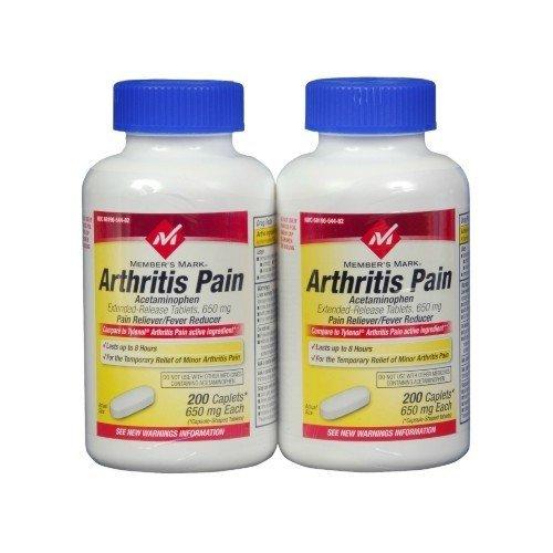 tylenol arthritis pain 650mg caplets