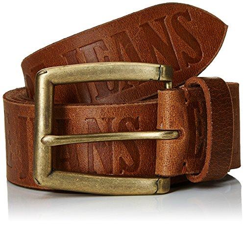 Pepe Jeans Sauco Belt, Cintura Uomo, Marrone (Brown), 105 cm (Taglia Produttore: 105)