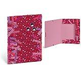 Carpeta folio a4 bandas elásticas Washi tape