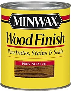 Minwax 70002 1 Quart Wood Finish Interior Wood Stain, Provincial