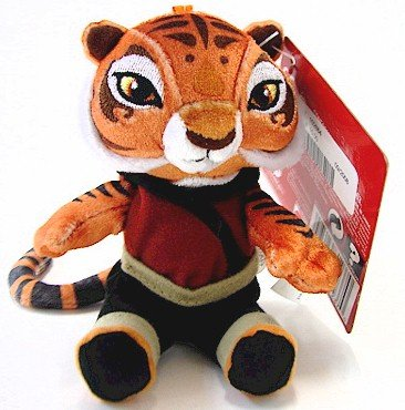 Buy Low Price Mattel Kung Fu Panda Movie 4 Inch Plush Figure Tigress (B0019WJH1Q)