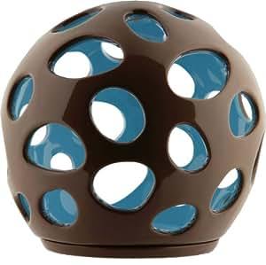 Alessi porcelaine pour bougie chauffe plat marron bleu for Amazon oggettistica