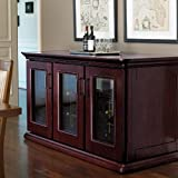 Le Cache Euro Credenza - Chocolate Cherry finish