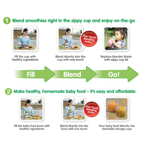 Nuk Smoothie Baby Food Maker With Accessories