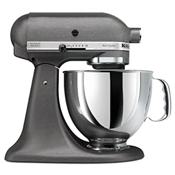 KitchenAid KSM150PSGR Artisan Series 5-Quart Mixer (Imperial Gray)