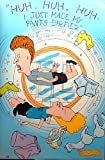 Beavis & Butthead Washing Machine 23X35 Poster