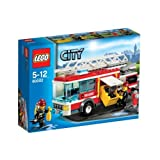 LEGO® City Fire Truck Playset - 60002 with accompanying Storage Bag for yourLlego