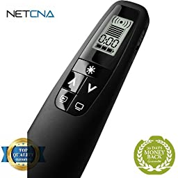 Professional Presenter C850 with Green Laser Pointer - Free NETCNA Touch Screen Pen - By NETCNA