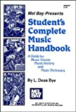 img - for Mel Bay Students Complete Music Handbook book / textbook / text book