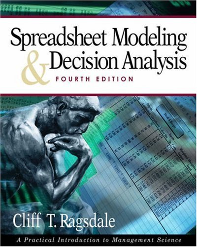 Spreadsheet Modelling and Decision Analysis