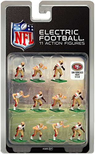 San Francisco 49ersWhite Uniform NFL Action Figure Set