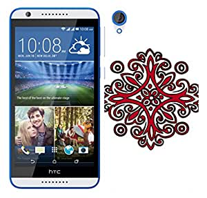 WOW Printed Designer Mobile Case Back Cover For HTC Desire 820