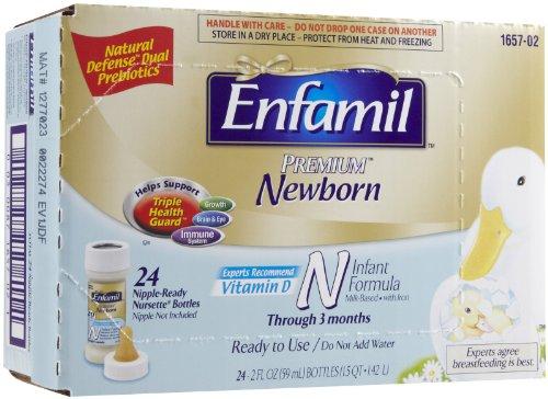 Enfamil Newborn Baby Formula - Nursers - 2 Oz - 24 Pk