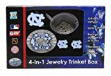 North Carolina Tar Heels - UNC Jewelry Box (Trinket) - NCAA College Athletics Fan Shop Sports Team M...