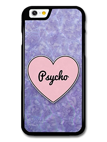 Psycho Heart in Lilac Grunge Hipster Background custodia per iPhone 6 6S