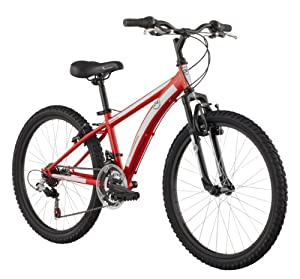 Diamondback 2013 Cobra Junior Mountain Bike with 24-Inch Wheels  (Red, 24-Inch/Boys)