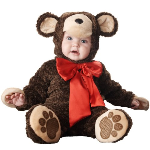 InCharacter Costumes Baby's Lil' Teddy Bear Costume, Brown, Medium (Teddy Bear Costumes compare prices)