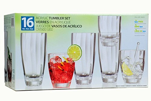 16-piece-clear-acrylic-tumbler-set-by-costco