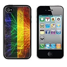 buy Msd Apple Iphone 4 Iphone 4S Aluminum Plate Bumper Snap Case Gay Pride Flag Waving In The Wind With Some Spots And Stains Image 22619403