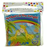 Baby Bath Time Book Colorful and Waterproof Soft Body Book Pack of 1 Jungle Book
