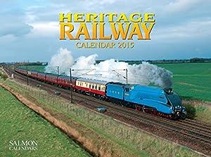 Heritage Railway Large Wall Calendar 2015