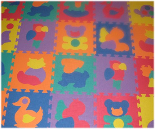 Cheap SoftnSafe EVA Foam Animal Mat (2 Sets) (B001OR3C2G)