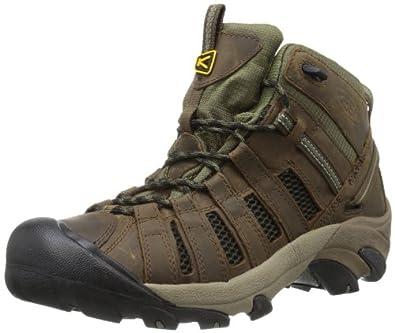 Keen Men's Voyageur Mid Hiking Boot,Dark Earth/Burnt Olive,7 M US