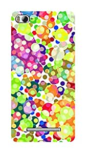 SWAG my CASE PRINTED BACK COVER FOR XIAOMI MI4I Multicolor