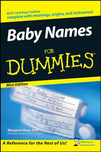 Free Baby Name Books front-1009041