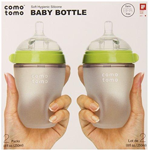 COMOTOMO 可么多么 硅胶防胀气奶瓶 250ml*2个 $23.99+$3.49直邮中国(约¥170)