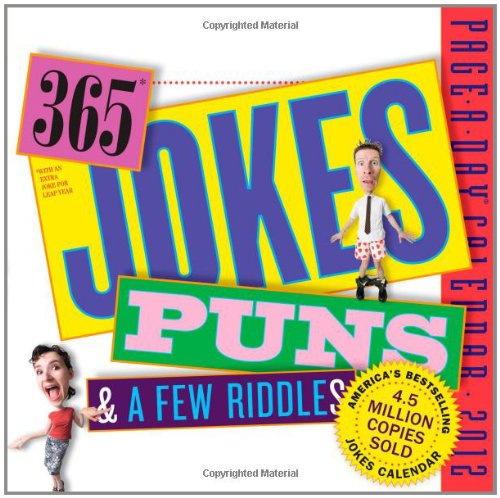 Original 365 Jokes, Puns, and a Few Riddles 2012 Calendar