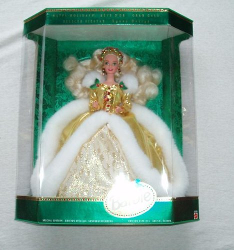 51T%2B3nvFwrL Cheap Price 1994 Happy Holiday Special Edition Barbie Doll