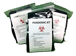 Pandemic QuickKits - Set of 3 by First Aid Global, LLC