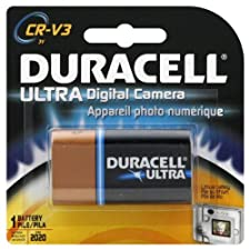 Duracell Battery, Lithium Digital Camera, CR-V3 1 battery