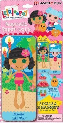LALALOOPSY PAPER DOLL MAGNETIC FUN TIN