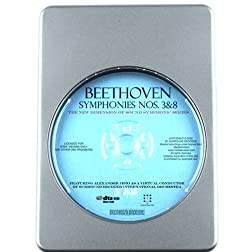 Beethoven: Symphonies Nos.3'Eroica' & 8 - 7.1 DTS-HD 3D Sound Blu-ray Audio Signature Series