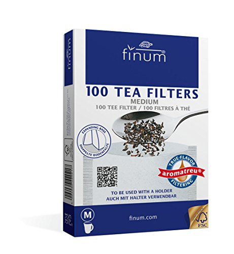 Finum 100 Tea Filters, Medium